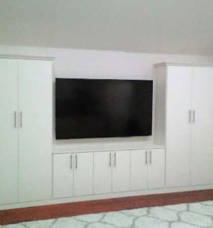 White-Contemporary-Entertainment-Center